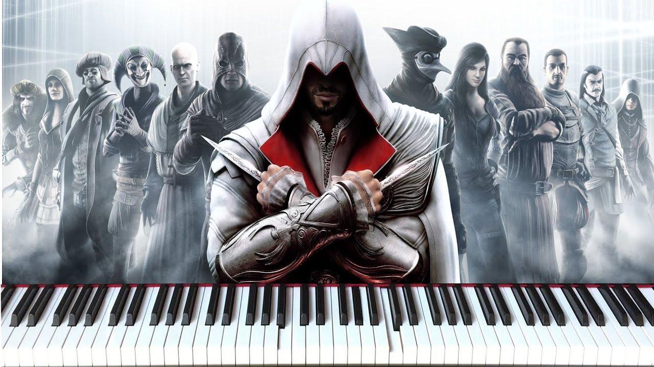 Ezio's Family Cover on Grand Piano (Assassin's Creed ...