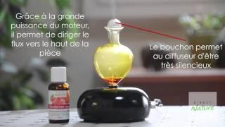 Diffuseur d'huiles essentielles Galea noir