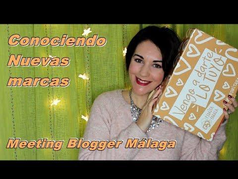 Encuentro Meeting Blogger Málaga - Descubriendo nuevas marcas