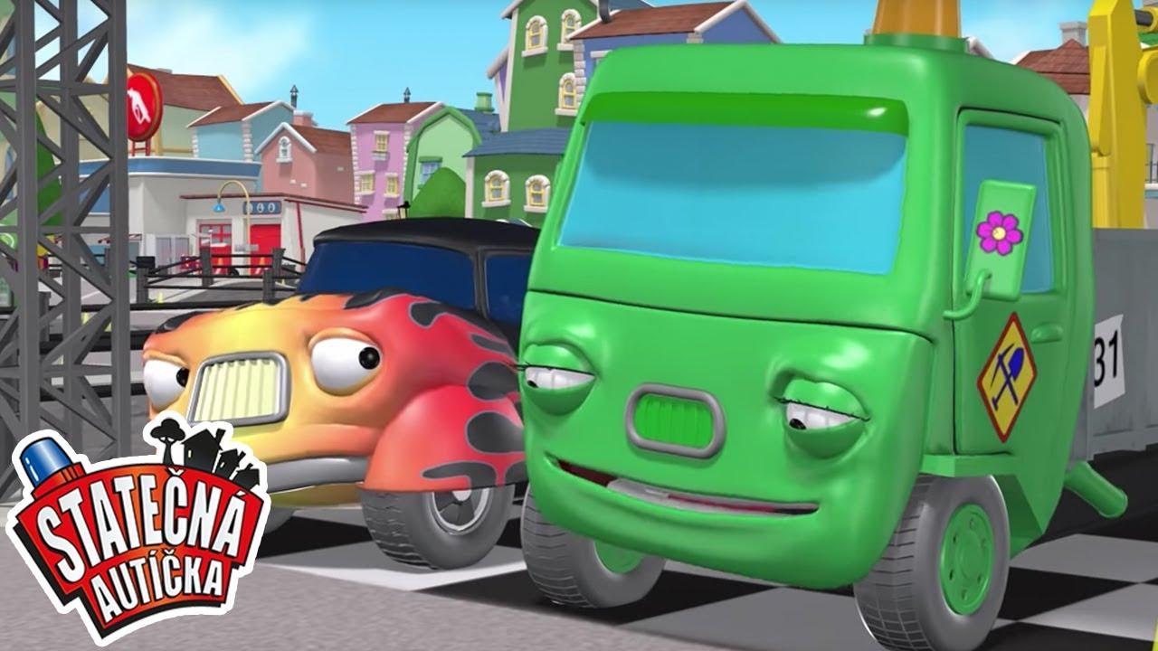 Statečná autíčka - Nejlepší | Kreslené pro Děti | Animované pro Děti