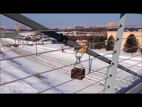 Sabo Bridge (Cable Damper)