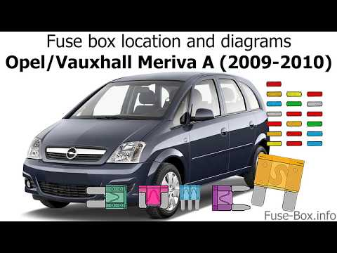 fuse box location and diagrams opel vauxhall meriva a vauxhall 2 seater vauxhall zafira fuse box diagram 2004 #12