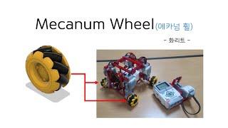 [EV3] - Mecanum Wheel(메카넘 휠, 3…
