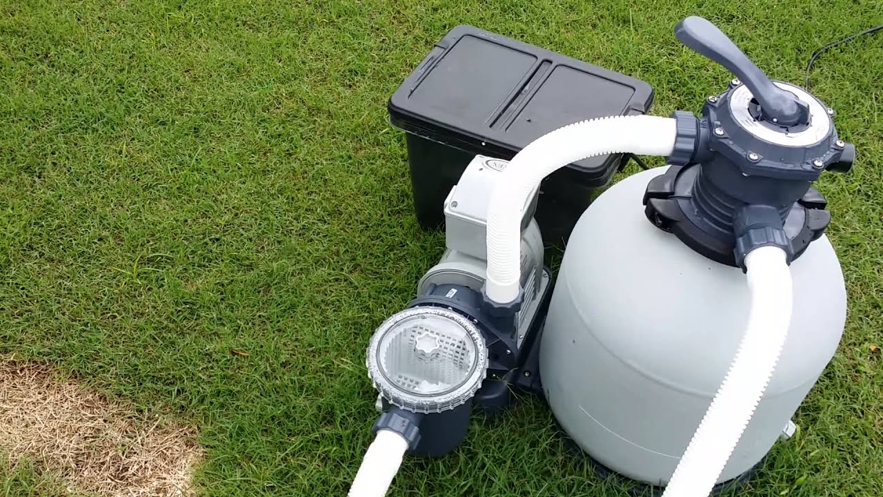 Upgraded Above Ground Pool Pump Youtube
