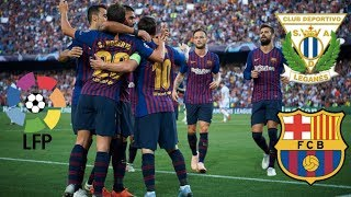 Download Video Leganes vs Barcelona, La Liga 2018 - MATCH PREVIEW MP3 3GP MP4