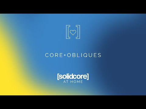[solidcore] at home: core + obliques