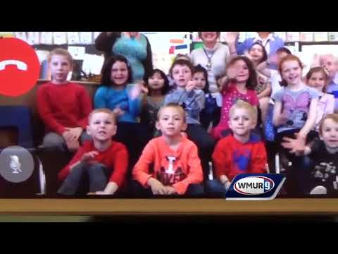 Visit Via Facetime: Jaffrey Grade School