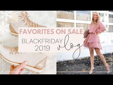 MY FAVORITES ON SALE! BLACK FRIDAY SALE VLOG | Amanda John