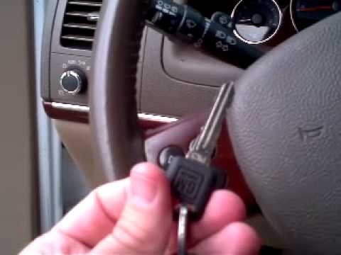 How to program a transponder key GM Chevy Buick Saturn Oldsmobile Pontiac Van
