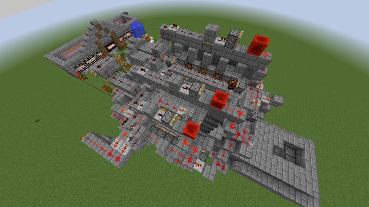 Casa Automatica De Redstone Minecraft 1 7 4 Dowload