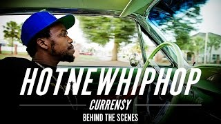 Driving with Curren$y in New Orleans (HotNewHipHop Cover Shoot - Behind the Scenes)