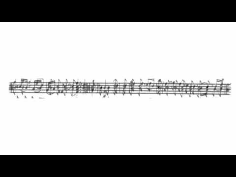 La Mariée by Marin Marais from his fifth Book of viol pieces