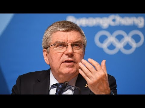 LIVE: IOC-Präsident Thomas Bach gibt Pressekonferenz