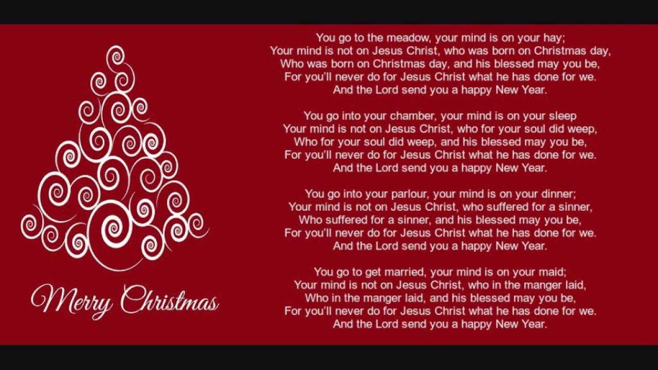 we wish you a merry christmas lyrics version 2 - Merry Merry Merry Christmas Lyrics