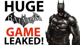 NEW Batman: Arkham Legacy Game LEAKED | Reveal Coming Soon? | New Story Details | Xbox and Ps4