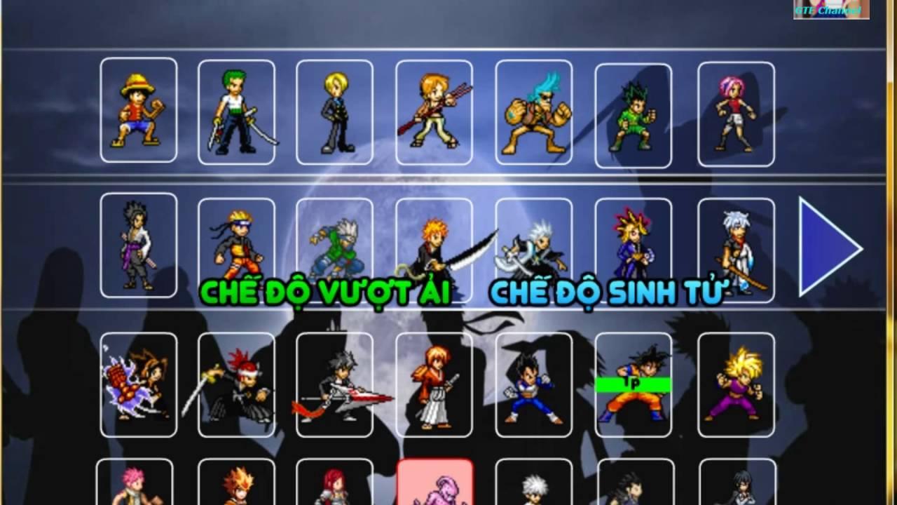 [ Reivew ] Chơi game siêu sao Anime đại chiến : Songoku , Mabu , Yasuo , …