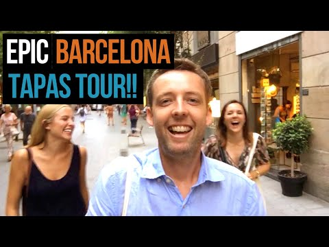 Best Tapas in Barcelona! 🙌 We visit 8 AMAZING tapas bars!