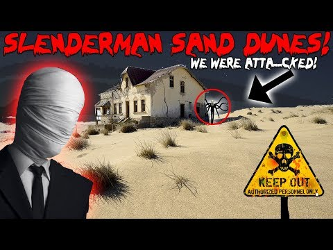 SLENDERMAN I GOT SHOT AT BY A MAD MAN! Caught on Film
