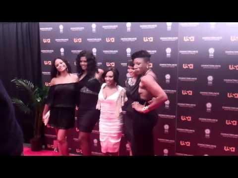 Joyful Drake Tangi Miller Naturi Naughton Erica Hubbard Aisha Hines USA Network And NAACP Reception