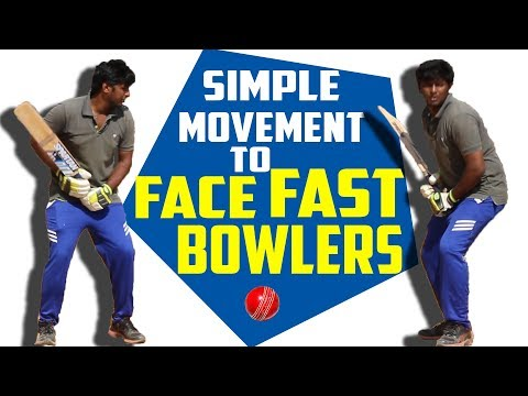 Simple Movement to face fast bowlers fearlessly | Cricket Batting Tips | Nothing But Cricket