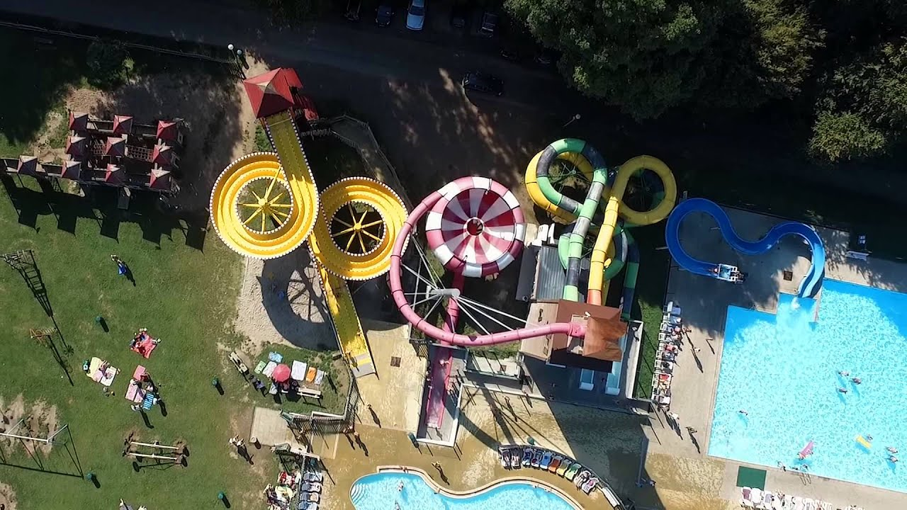 Camping Capfun Hirondelle, Parc Aquatique Incroyable En Belgique   YouTube
