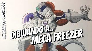 Dibujando a Meca Freezer / Drawing the Mecca Freezer