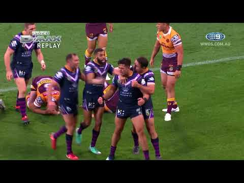 NRL Highlights: Melbourne Storm v Brisbane Broncos – Round 14