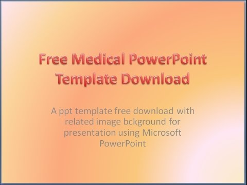 Free medical powerpoint templates download background presentation free medical powerpoint templates download background presentation toneelgroepblik Image collections
