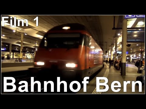 Bern Railway Station, Bahnhof Bern, Schweiz 2017