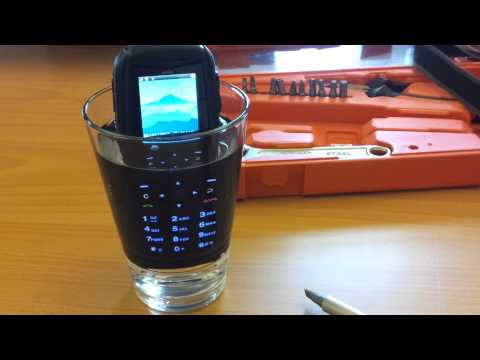 Sonim XP3300 Force Glas Water