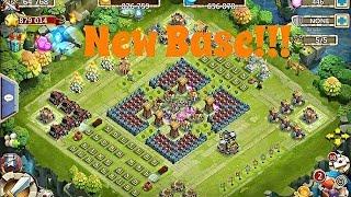Castle Clash New Base Set-up!!!