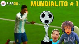 01 MUNDIALITO CRI ARGENTINA vs SVIZZERA FIFA 20 Gameplay
