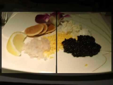 Thai Airways A380 & First Class Meals