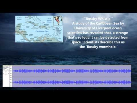 Alien sounds detected in the Caribbean Sea 2016
