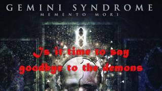 "Gemini Syndrome - ""Say Goodnight"" Lyrics"