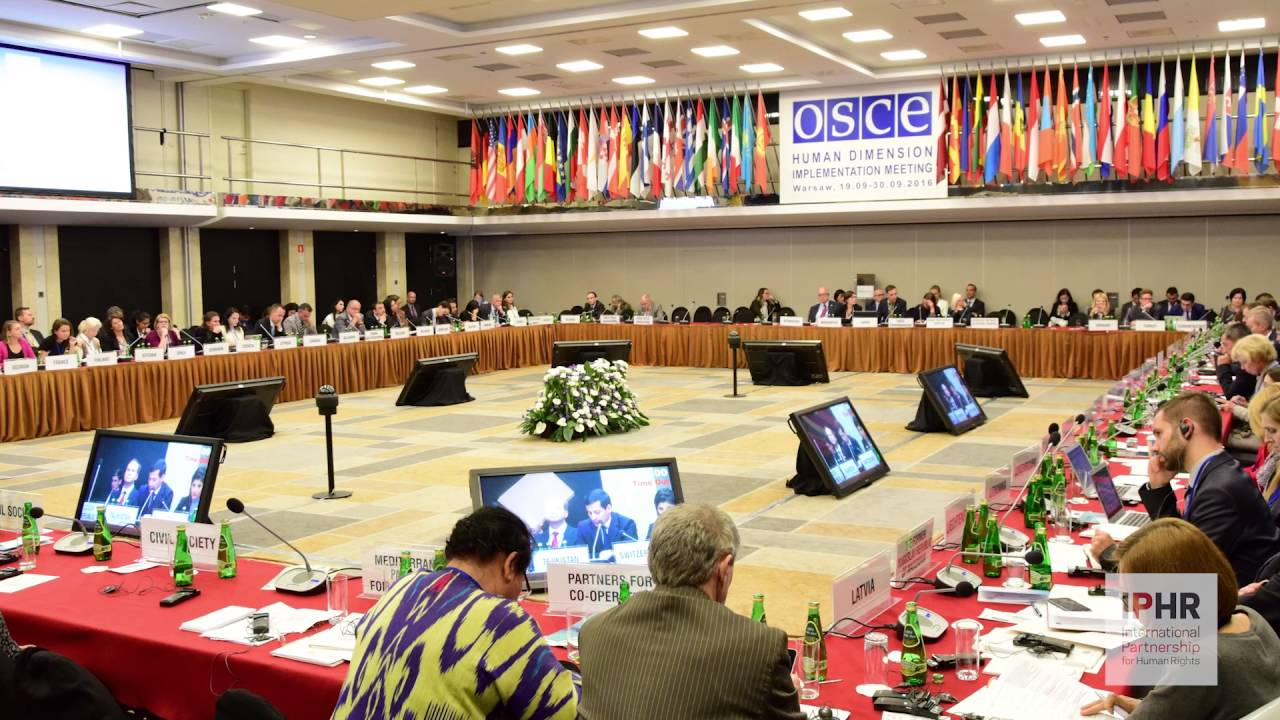 Download IPHR & partners at the HDIM 2016, Europe's largest annual human rights conference