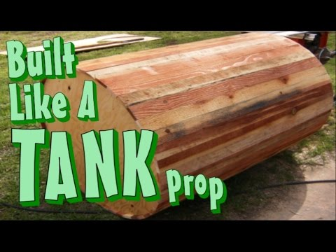Build A Round Wood Water Tank Building An Old Western