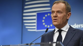 Donald Tusk says British hopes for future ties are