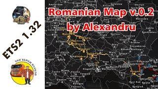 ETS2 1.32 Romanian Map by Alexandru v.0.2