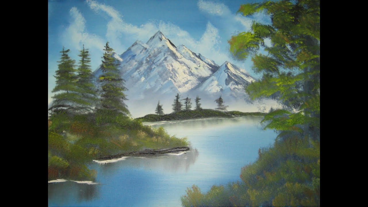 Best Bob Ross Paintings For Beginers