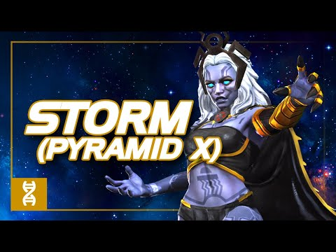 Storm (Pyramid X) Special Moves Video   Marvel Contest of Champions