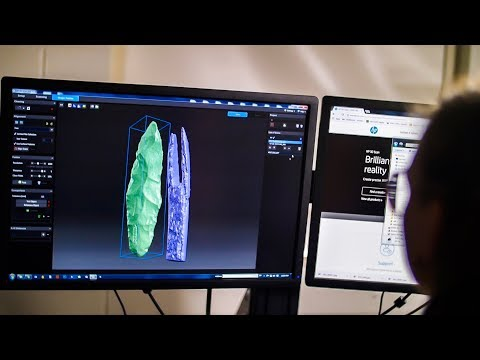 HP 3D Structured Light Scanner Pro S3 Case Study - Archaeology