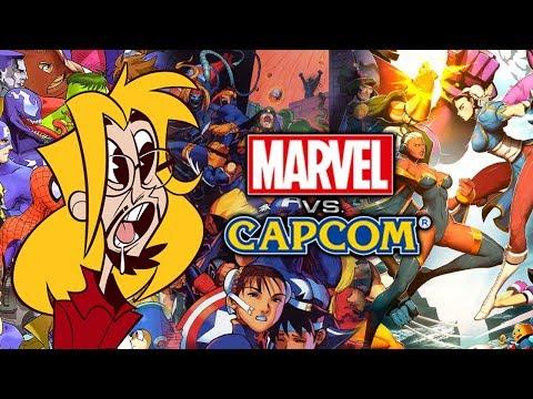 Max LOVES Marvel Vs. Capcom Art (Stream Highlight)