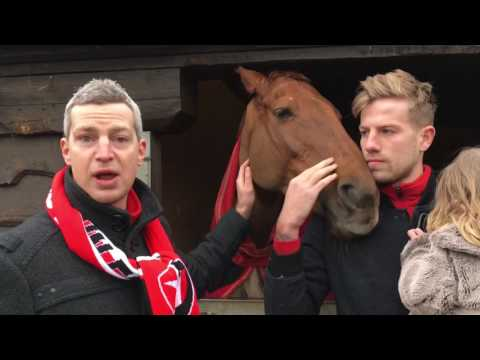 Harry Pell & Aaron Downes on their morning at Fergal O'Brien's race yard