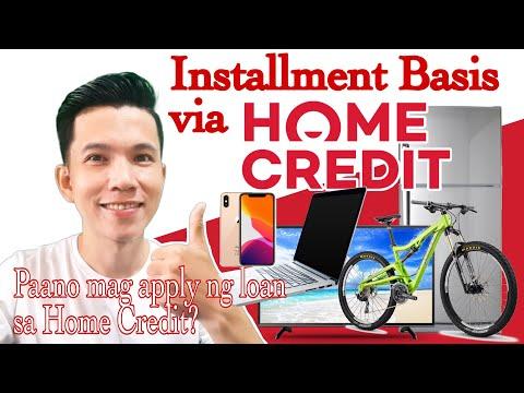 Download Paano mag apply ng loan sa Home Credit? | Installment via Home Credit 2021 version