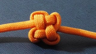 Decorative Paracord Chinese Clover Knot - Good Luck Charm