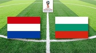 Niederlande - Bulgarien (3. September 2017) | WM2018 Qualifikation
