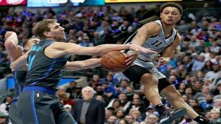 Dallas Mavericks vs San Antonio Spurs Full Game Highlights  1/16/2019