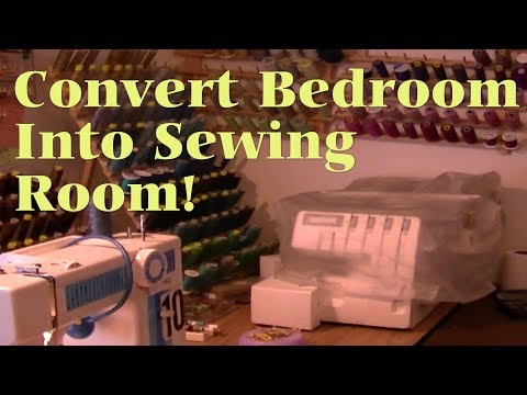 How To Convert Bedroom To Sewing Room Viewer
