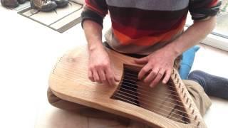 Lyre harp simple composition